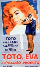 Totò, Eva e il pennello proibito - Italian Movie Poster (xs thumbnail)