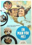Un homme qui me plaît - Swedish Movie Poster (xs thumbnail)
