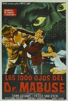 Die 1000 Augen des Dr. Mabuse - Argentinian Theatrical poster (xs thumbnail)