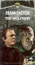 Frankenstein Meets the Wolf Man - VHS cover (xs thumbnail)