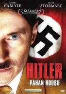 Hitler: The Rise of Evil - Finnish DVD cover (xs thumbnail)