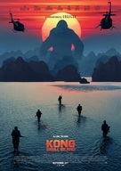 Kong: Skull Island - Swedish Movie Poster (xs thumbnail)