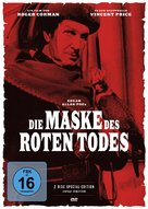 The Masque of the Red Death - German Movie Cover (xs thumbnail)