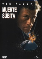 Sudden Death - Mexican Movie Cover (xs thumbnail)
