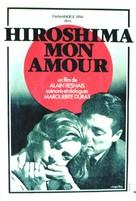 Hiroshima mon amour - French Movie Poster (xs thumbnail)