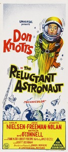 The Reluctant Astronaut - Australian Movie Poster (xs thumbnail)