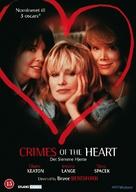 Crimes of the Heart - Danish DVD cover (xs thumbnail)