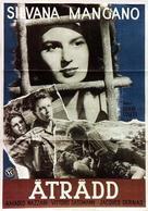 Lupo della Sila, Il - Swedish Movie Poster (xs thumbnail)