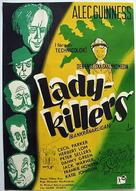 The Ladykillers - Swedish Movie Poster (xs thumbnail)