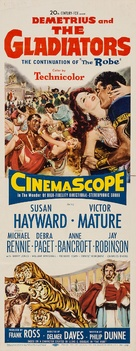 Demetrius and the Gladiators - Movie Poster (xs thumbnail)