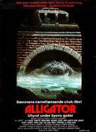 Alligator - Danish Movie Poster (xs thumbnail)