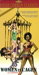 Women in Cages - VHS cover (xs thumbnail)