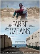 Die Farbe des Ozeans - German Movie Poster (xs thumbnail)