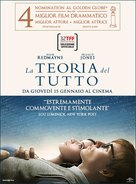 The Theory of Everything - Italian Movie Poster (xs thumbnail)