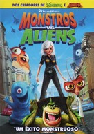Monsters vs. Aliens - Portuguese Movie Cover (xs thumbnail)