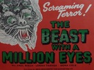 The Beast with a Million Eyes - British Movie Poster (xs thumbnail)