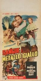 The Yellow Mountain - Italian Movie Poster (xs thumbnail)