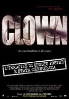 Clown - Italian Movie Poster (xs thumbnail)