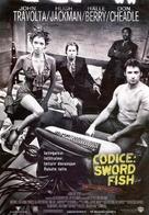 Swordfish - Italian Movie Poster (xs thumbnail)