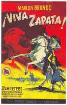 Viva Zapata! - Spanish Movie Poster (xs thumbnail)
