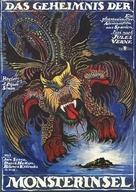 Misterio en la isla de los monstruos - German Movie Poster (xs thumbnail)
