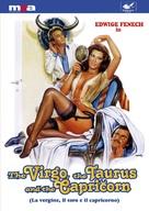 La vergine, il toro e il capricorno - DVD cover (xs thumbnail)