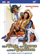 La vergine, il toro e il capricorno - DVD movie cover (xs thumbnail)