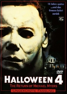 Halloween 4: The Return of Michael Myers - German DVD movie cover (xs thumbnail)