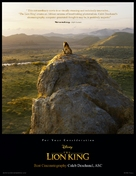 The Lion King - For your consideration movie poster (xs thumbnail)
