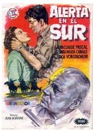 Alerte au sud - Spanish Movie Poster (xs thumbnail)