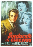 Chicago Syndicate - Italian Movie Poster (xs thumbnail)