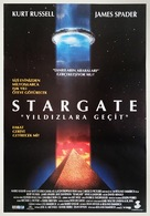 Stargate - Turkish Movie Poster (xs thumbnail)