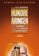 Hundraåringen som klev ut genom fönstret och försvann - Norwegian Movie Poster (xs thumbnail)