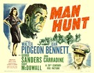 Man Hunt - Movie Poster (xs thumbnail)