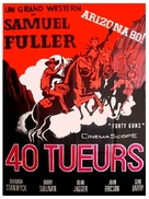 Forty Guns - French Movie Poster (xs thumbnail)