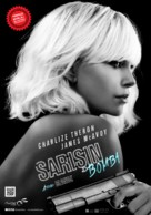 Atomic Blonde - Turkish Movie Poster (xs thumbnail)