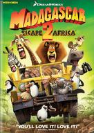 Madagascar: Escape 2 Africa - DVD cover (xs thumbnail)