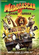 Madagascar: Escape 2 Africa - DVD movie cover (xs thumbnail)