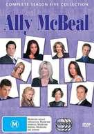 """Ally McBeal"" - Australian DVD movie cover (xs thumbnail)"