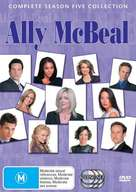 """Ally McBeal"" - Australian DVD movie cover (xs thumbnail)"