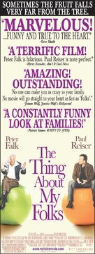 The Thing About My Folks - Movie Poster (xs thumbnail)