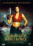 Bloody Mallory - French DVD cover (xs thumbnail)