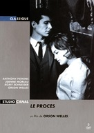 Le procès - French Movie Cover (xs thumbnail)