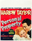 Personal Property - Movie Poster (xs thumbnail)