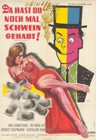 The Big Money - German Movie Poster (xs thumbnail)