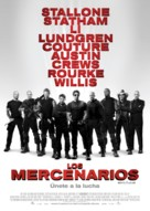 The Expendables - Spanish Movie Poster (xs thumbnail)
