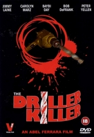 The Driller Killer - British Movie Cover (xs thumbnail)