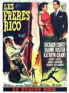 The Brothers Rico - Belgian Movie Poster (xs thumbnail)