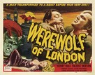 Werewolf of London - Re-release poster (xs thumbnail)