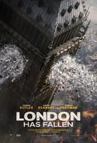 London Has Fallen - British Movie Poster (xs thumbnail)